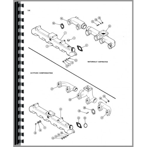 Case 1150B Crawler Parts Manual
