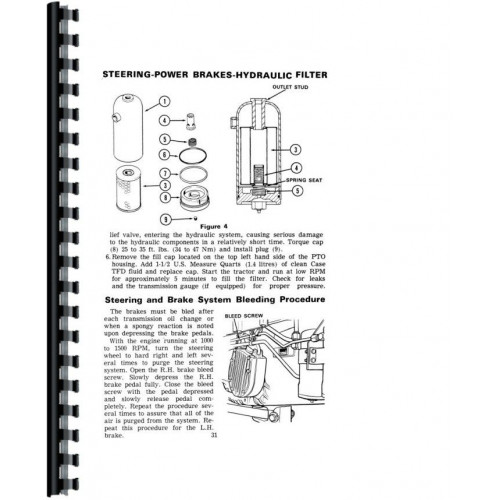 Case 1175 Tractor Operators Manual (Sn 8,770,001 & Up)