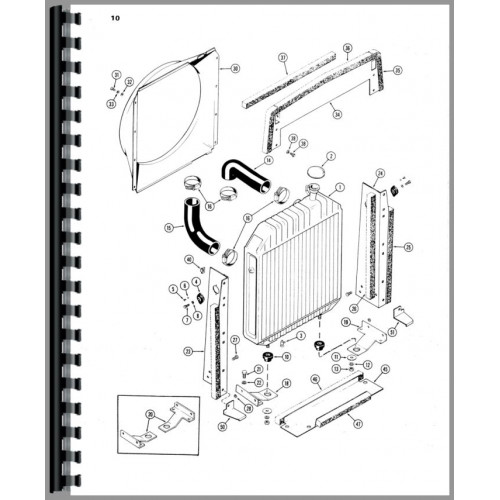 Case 1370 Tractor Parts Manual (Early to 8727601)