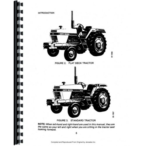 Case 1490 Tractor Operators Manual