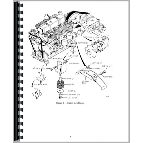 Case 1740 Uniloader Service Manual