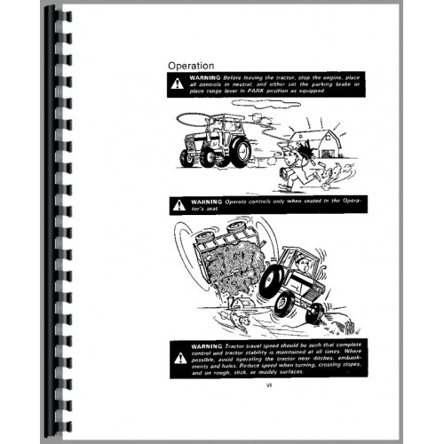 Case 2590 Tractor Operators Manual