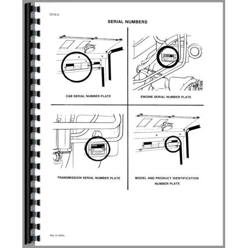 Case 2394 Tractor Service Manual