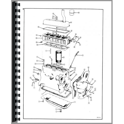Case 310 Crawler Parts Manual