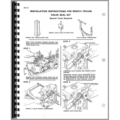Case 35B Excavator Engine Service Manual