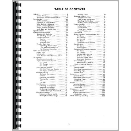 Case 450 Crawler Operators Manual (SN# 3040902 and Up