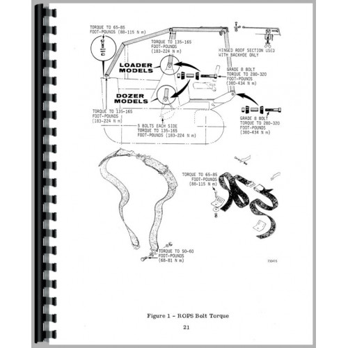 Case 450 Crawler Operators Manual (SN# 3040902 and Up