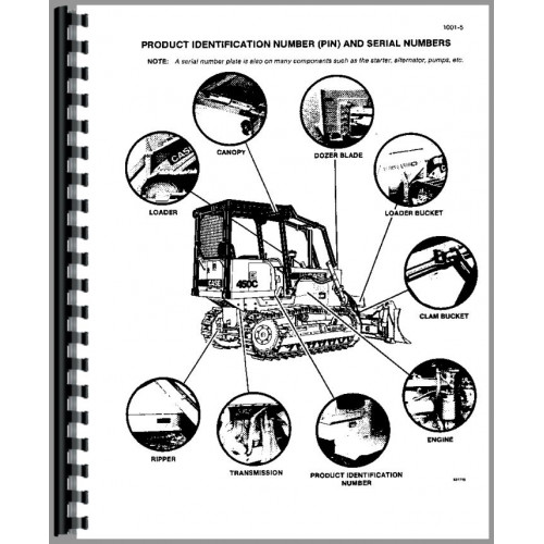 Case 455C Crawler Service Manual