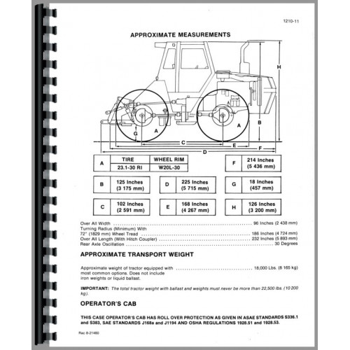 Case 4690 Tractor Service Manual