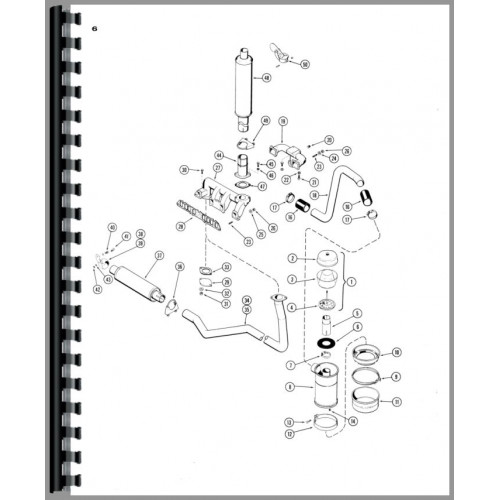 Case 430 Tractor Parts Manual (SN# 8297801 and Up) (8297801+)