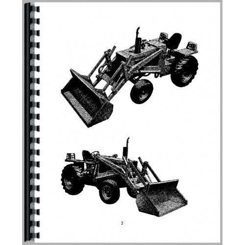 Case 580B Industrial Tractor Operators Manual