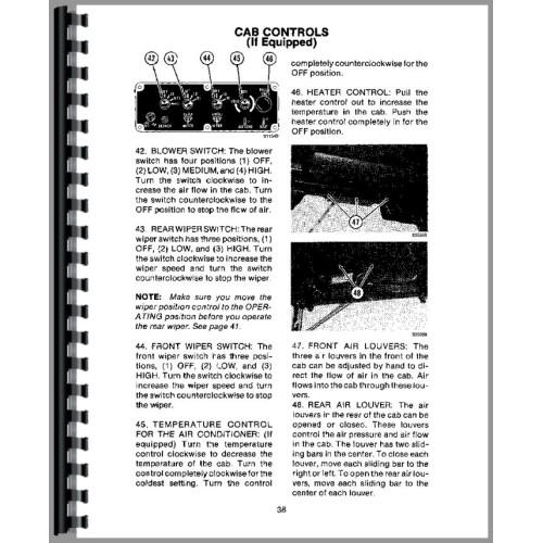 Case 580E Tractor Loader Backhoe Operators Manual