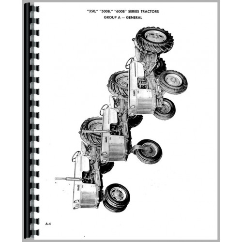 Case 350 Tractor Service Manual