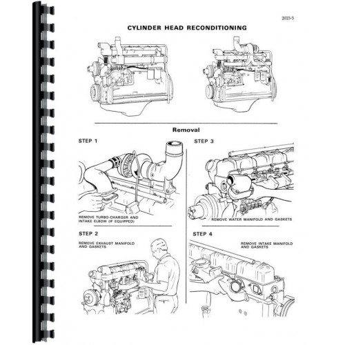 Case 680E Tractor Loader Backhoe Service Manual (Includes