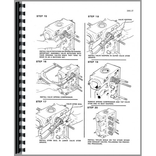 Case 680G Tractor Loader Backhoe Service Manual (includes