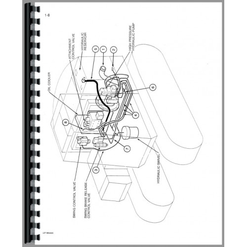 Case 688 Excavator Parts Manual (SN# 74123-74485 and 11501