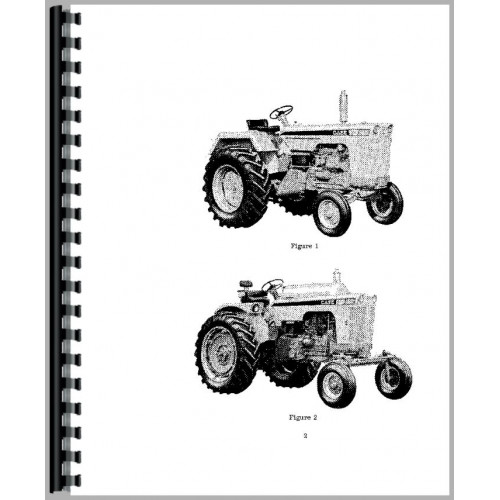 Case 841 Tractor Operators Manual (SN# 8229001 & up)