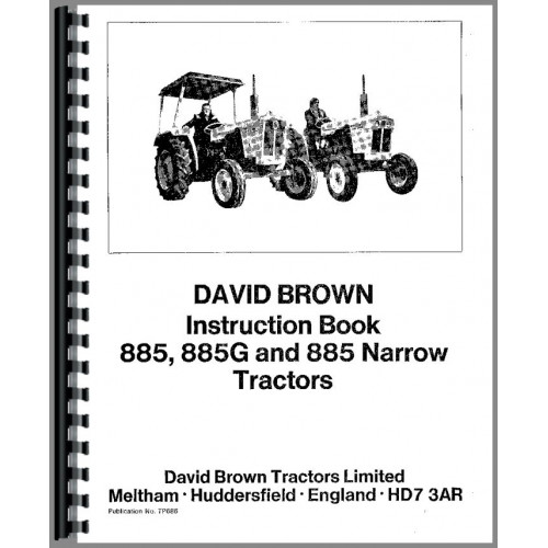 Case 885 Tractor Operators Manual