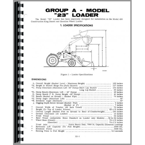 Case 320 Tractor Loader Backhoe Service Manual
