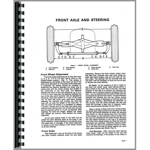Case 850 Tractor Service Manual