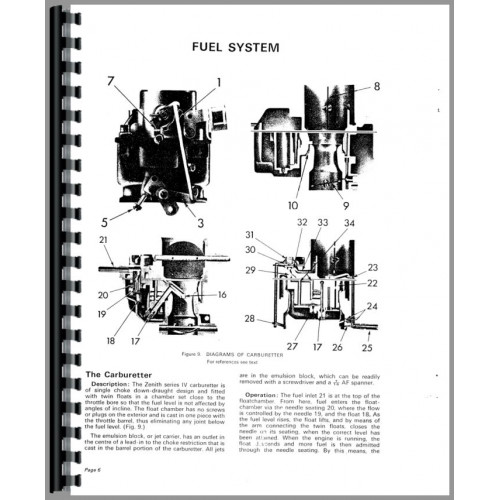 Case 780 Tractor Service Manual (Engine)