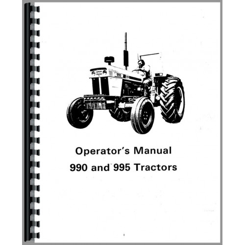 Case 995 Tractor Operators Manual