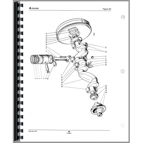 Case 1210 Tractor Parts Manual (SN# 0-11150000)