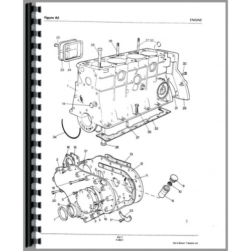 Case 990 Tractor Parts Manual (SN# 11070001 and Up