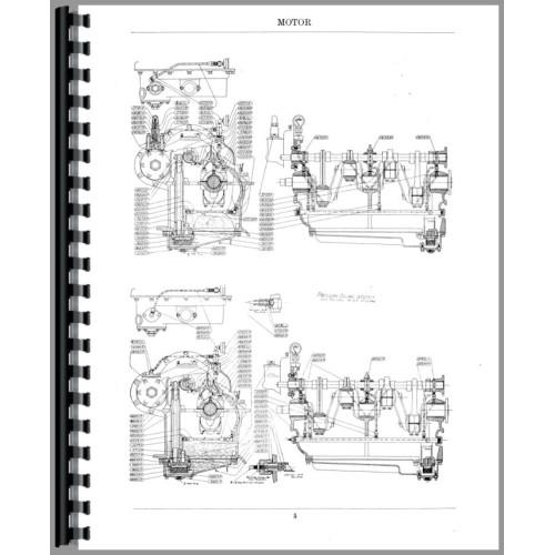 Case 12-20 Tractor Parts Manual