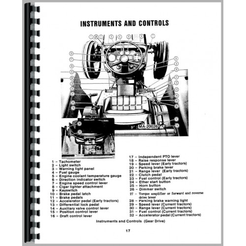 International Harvester 484 Tractor Operators Manual (1977