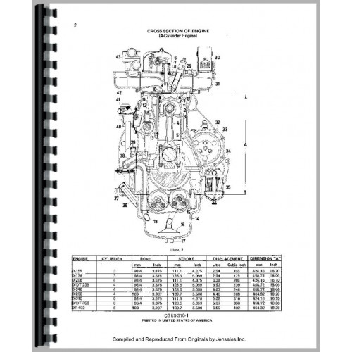 International Harvester 664 Tractor Engine Service Manual