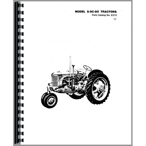 Case SO Tractor Parts Manual (SN# 5000001 and Up)