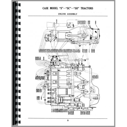 Case S Tractor Parts Manual (SN# 5000001 and Up)