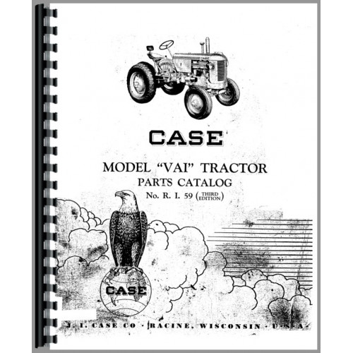 Case VAI Tractor Parts Manual
