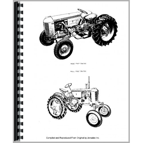 Case VA Tractor Parts Manual (1942-1952)