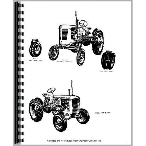 Case VAC Tractor Parts Manual (1942-1955)