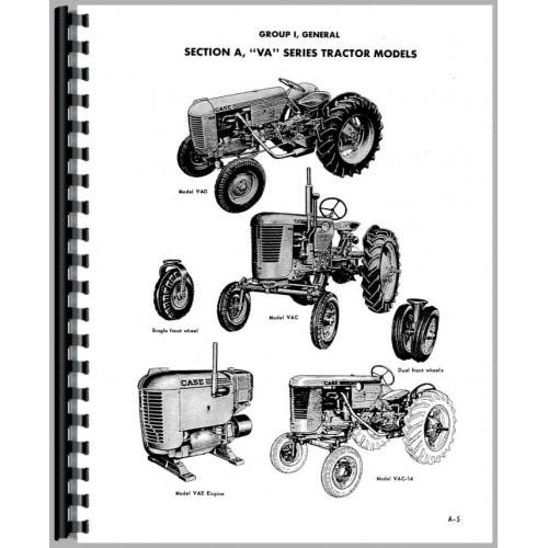Case VAI Tractor Service Manual (SN# 5770000 and Up)