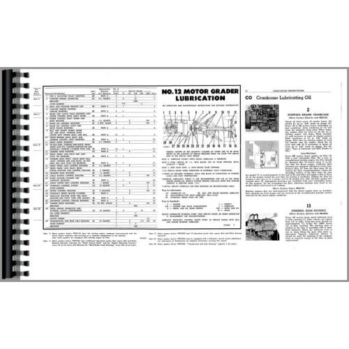 Caterpillar 12 Grader Operators Manual (SN# 99E1)