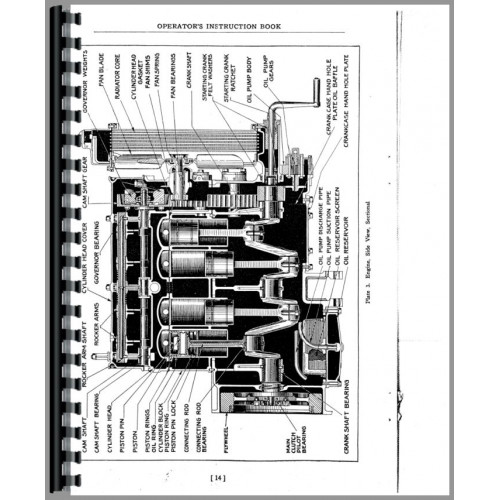 Caterpillar 2-Ton Crawler Service Manual