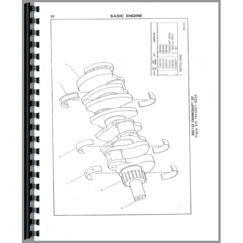 Caterpillar 225 Excavator Parts Manual (SN# 51U2832 and Up