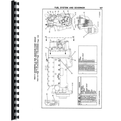 Caterpillar 3406B Engine Parts Manual (Sn 7FB1-9999, 4MG1