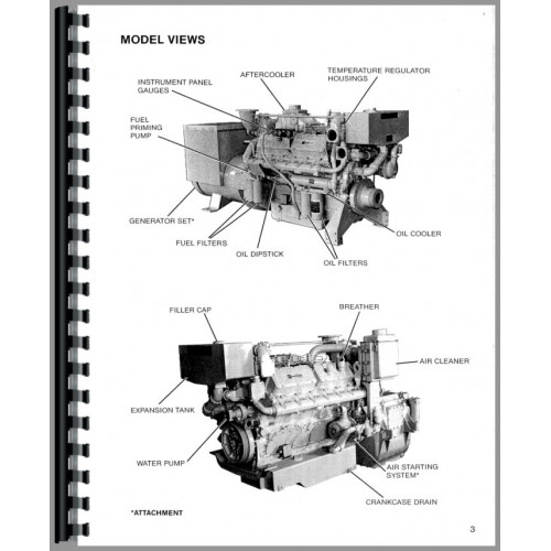 Caterpillar 3412 Engine Service Manual (SN# 60M1 and Up)