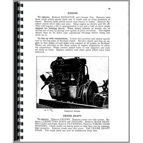 Caterpillar 60 Crawler Service Manual (SN# 2201A, PA1 and Up)