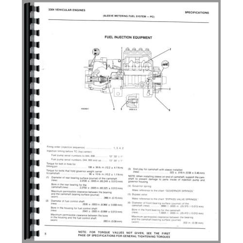 Caterpillar 930 Wheel Loader Service Manual (SN# 41J and