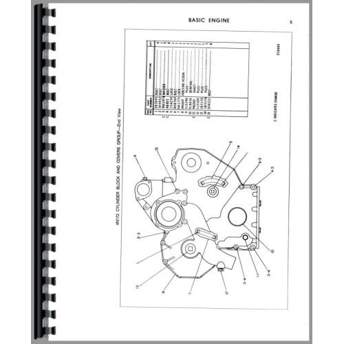 Caterpillar 931 Traxcavator Parts Manual (SN# 78U3914 and