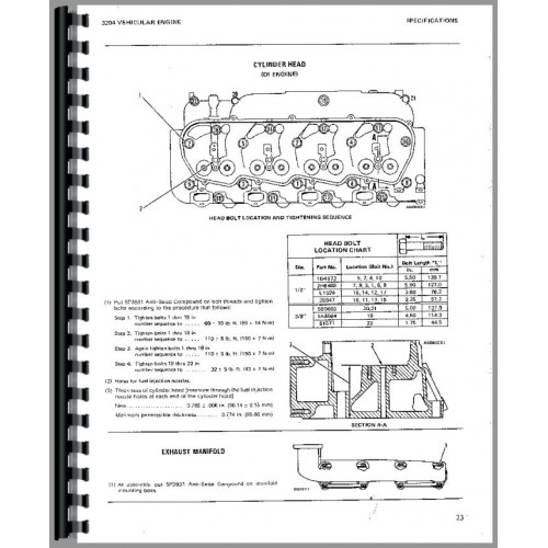 Caterpillar 931B Traxcavator Service Manual (SN# 25Y1 and