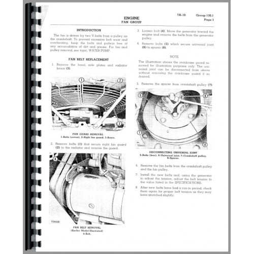 Caterpillar 933 Traxcavator Service Manual (SN# 42A1 and Up)