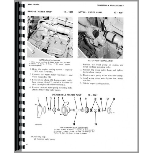 Caterpillar 955K Traxcavator Service Manual (SN# 85J)
