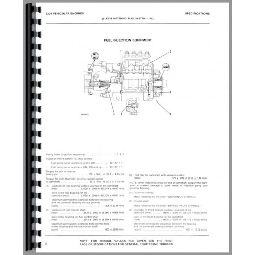 Caterpillar 955L Traxcavator Service Manual (SN# 8Y1 and