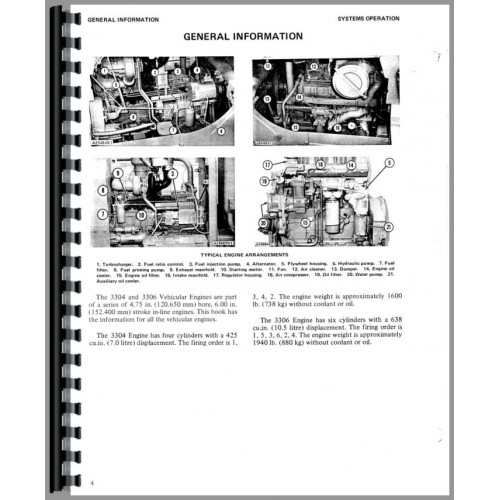 Caterpillar 977K Traxcavator Service Manual (SN# 11K and